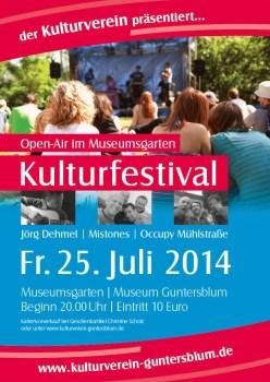 Kulturfestival Guntersblum 2014