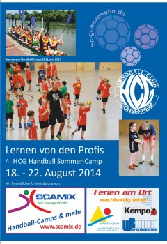 4. Handball Camp HC Gonsenheim 2014