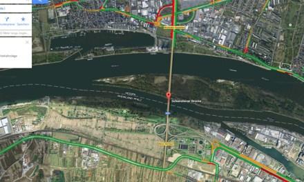 Schiersteiner Brücke wird Ende März wieder geöffnet