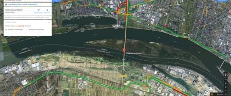 Vollsperrung der Schiersteiner-Brücke vielleicht auf Dauer?