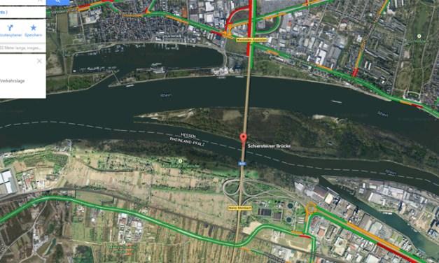 Schiersteiner Brücke: Anschlussstelle Mombach wieder offen – Zufahrt zu Industriegebie