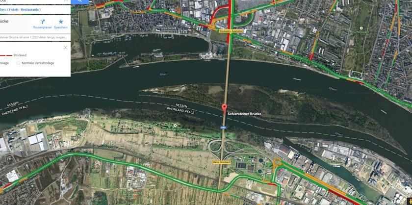 Lewentz: Arbeiten an Schiersteiner Brücke liegen im Plan
