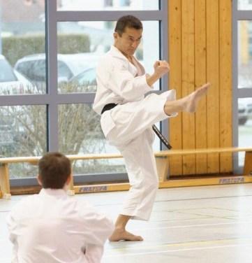 Lehrgang mit Japanischem Karate-Meister