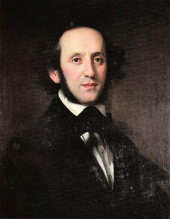 Felix Mendessohn Bartholdy. (Quelle: Wikipedia gemeinfrei)