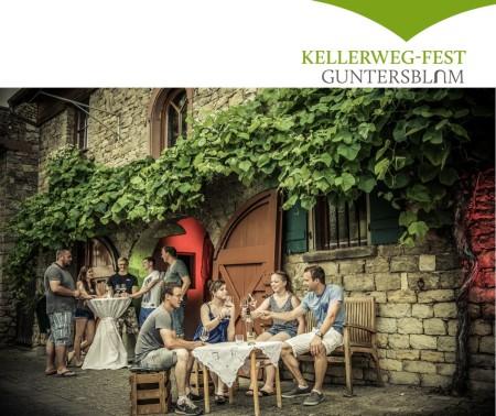 Kellerweg-Fest in Guntersblum, das große Weinfest an der Rheinterrasse