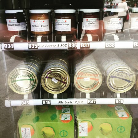 Wurst, Marmelade und mehr gibt es im Regiomat