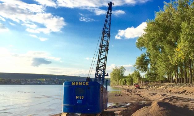 Lewentz: Vertiefung des Rheins für Schifffahrt bei Niedrigwasser erforderlich