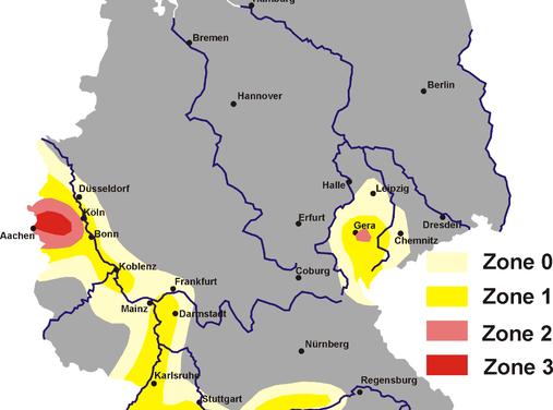 Erdbeben erschüttert Mainz