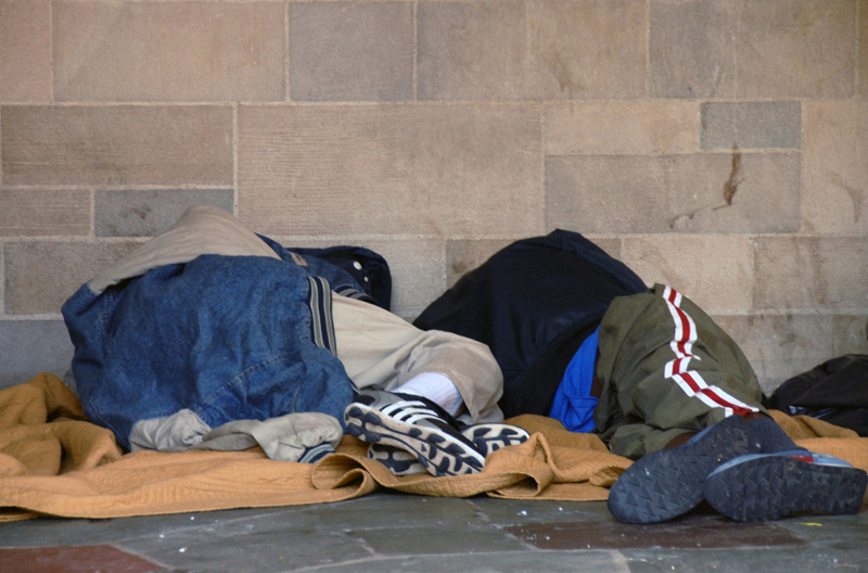 Kältebus in Mainz hilft Obdachlosen