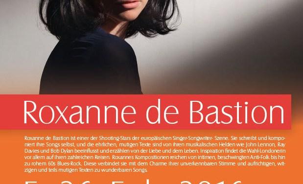 Roxanne de Bastion – hautnah und voller Gefühle in Guntersblum
