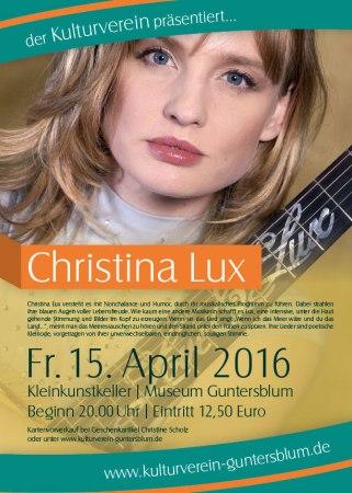 Christina Lux in Guntersblum.