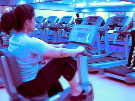 Eine 41-Jährige weigert sich, das Hausverbot in einem Fitnesstudio in Mainz zu befolgen. (Symbolfoto: stock:xchng / ramasamy chidambaram)