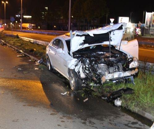 Mainz: Raser-Unfall mit vier Verletzten und hohem Sachschaden