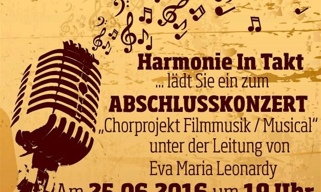 """""""H-I-T""""-Gesangverein Harmonie Oppenheim Musical & Filmmusik-Chorprojekt auf der Zielgerade"""