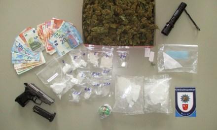 Schlag gegen Kokainhändler im Raum Worms