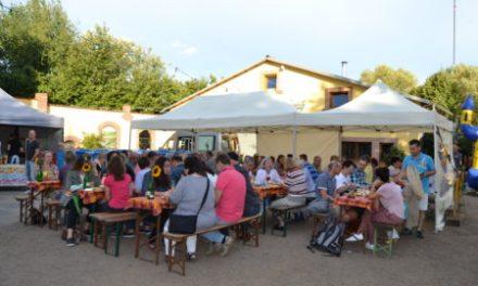 Grillbüffett Pollers Häusje auf Tour beim Weingut Porderhof