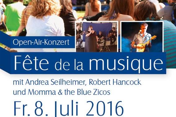 Fête de la musique im Guntersblumer Museumsgarten