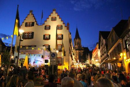 Oppenheimer Weinfest 2016 (Bild: Stadt Oppenheim)