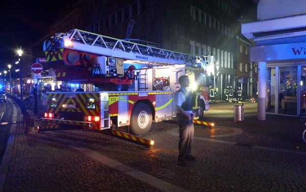 Brand in einer Wohnung im zweiten Stock am Schillerplatz