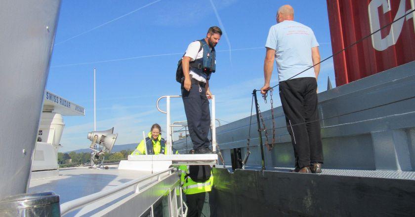 Gemeinsam gegen Schwarzarbeit in der Binnenschifffahrt