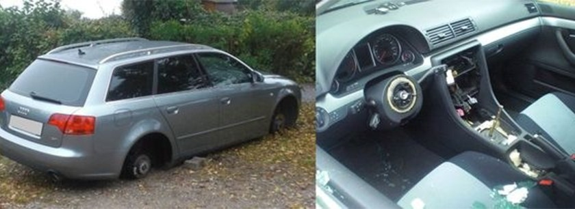 Auto-Schlachter haben in Worms zugeschlagen