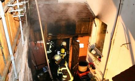 Glück im Unglück: Gebäudebrand in Mainz-Weisenau