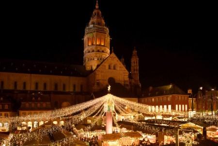 Heute öffnet der Weihnachtsmarkt Mainz. (Bild: Stadt Mainz)