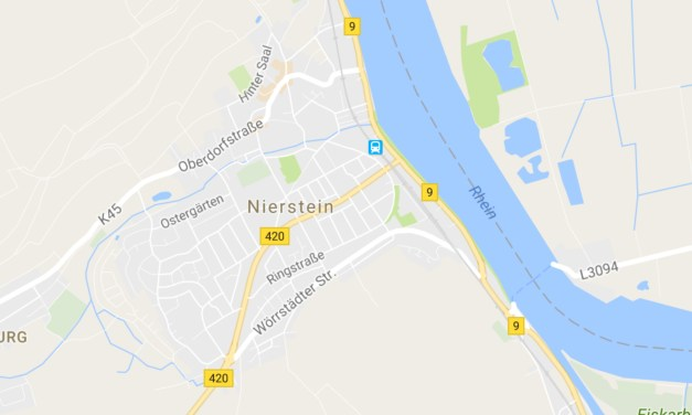 B9 Umgehung Nierstein: Entwurf des Bundesverkehrswegeplans 2030