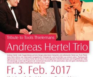 Hommage an die Jazzlegende Toots Thielemans