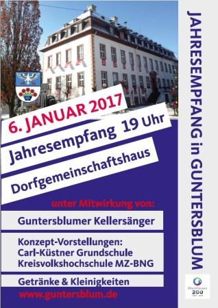 Jahresempfang der Gemeinde Guntersblum 1