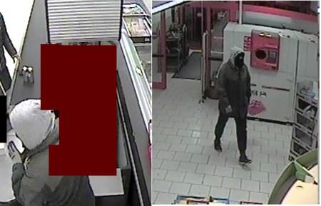 Diese Bilder einer Überwachungskamera zeigen den Täter. (Bild: Polizei Worms)
