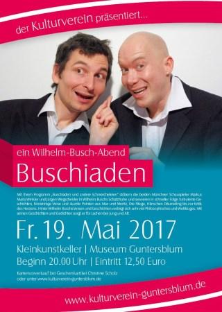 Plakat Buschiaden