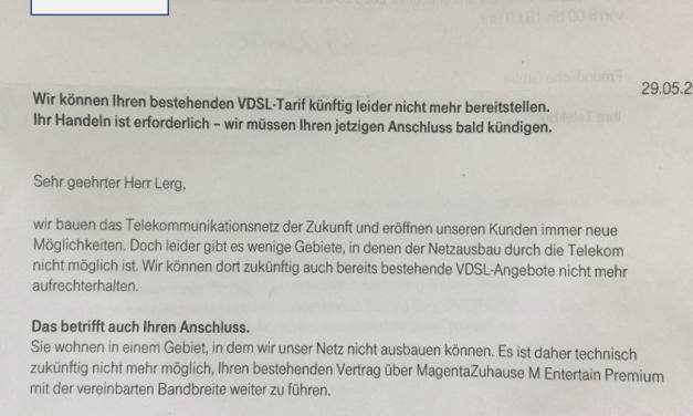 Telekom gibt ausführliche Antwort zu den VDSL-Anschlüssen in Oppenheim