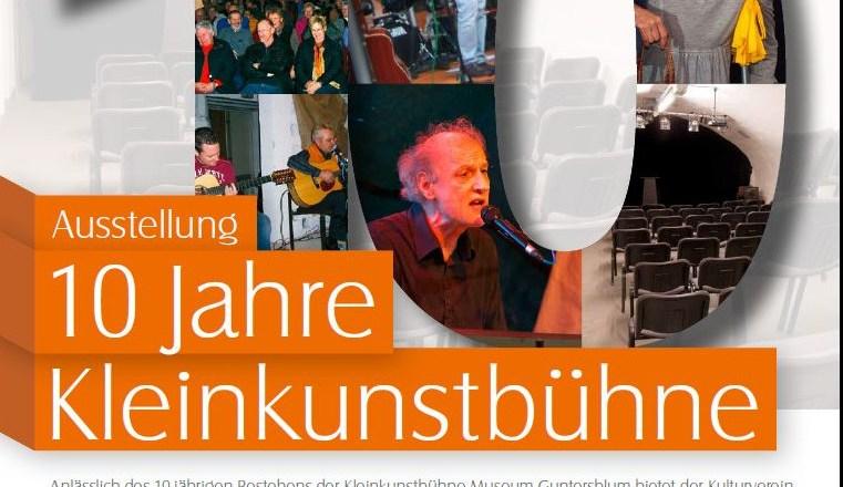10 Jahre Kleinkunstbühne Museum Guntersblum