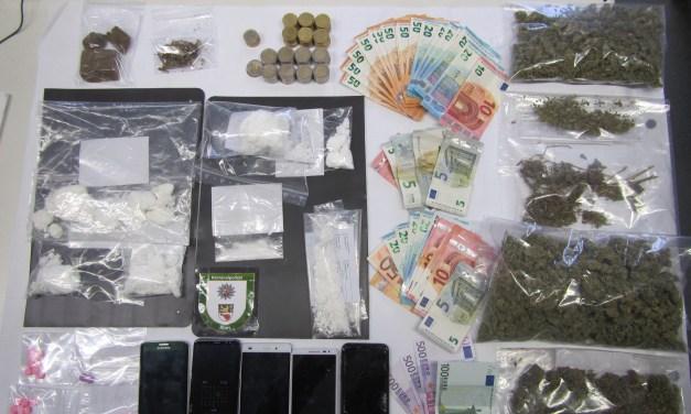 Schlag gegen die Drogenszene in Alzey
