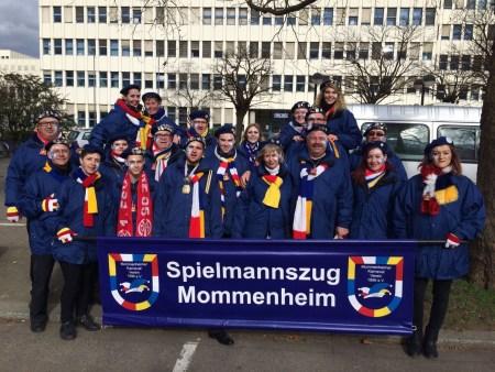 Der Spielmannzug Mommenhzeim (Bild: Michael Hartmann)