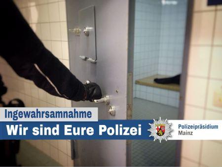 Symbolbild Ingewahrsamnahme Polizei Mainz