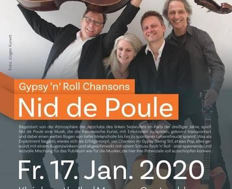 Gypsy `n´ Roll  Chansons mit Nid de Poule