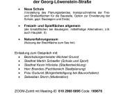 WiR – Wohnen in der Rummelsburger Bucht Nachbarschaftsverein – Einladung zum Townhall-Gespräch zur Entwicklung entlang der Georg-Löwenstein-Straße am 4.5.2021