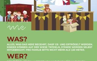 WiR – Wohnen in der Rummelsburger Bucht Nachbarschaftsverein – WiR Flohmarkt am 06.09.2020