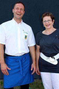 Ingolf Schubert und seine Mutter Heidrun freuen sich auf die Neueröffnung.