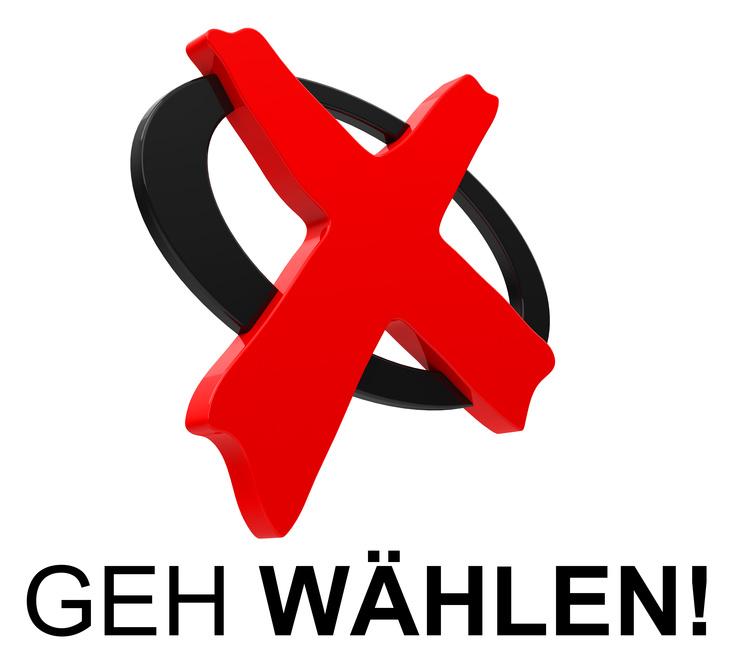 GEH WÄHLEN!