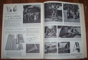 "1969 Directions for a ""giant construction toy"" Image: Kathy Ceceri"