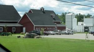 It's Potato World!  I'm sure that's just the overflow parking lot.  Photo: Jody Moon.