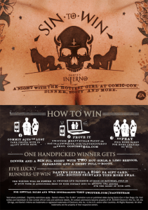 EA Games and their Dante's Inferno Promotion at SDCC