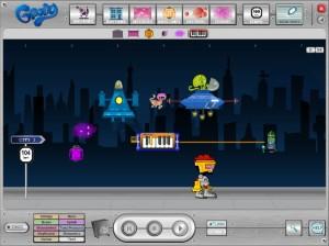 Screenshot from Groovy Music City