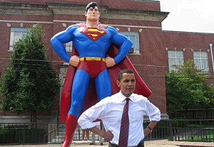 Photo that illustrated Obama's former Senate website.