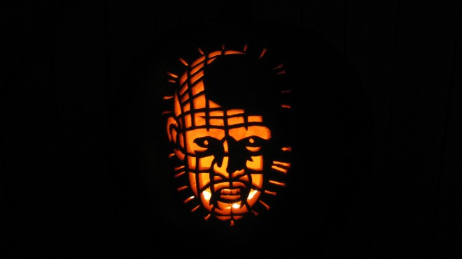 Just one of the 700 Jack O'Lanterns on display.    Photo: Jody Moon