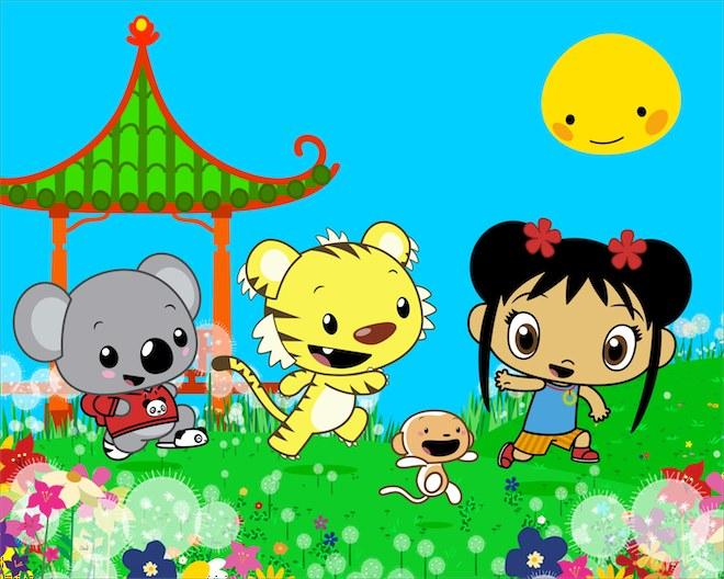 """Ni Hao, Kai-Lan"" image: Nickelodeon, used with permission."