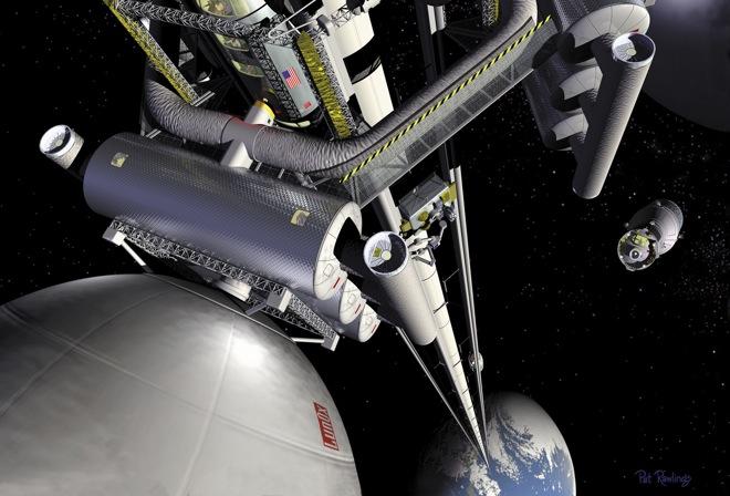 Image From NASA MSFC, Artist Pat Rawling